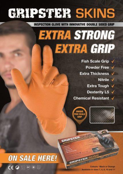 Oranssi suojakäsine