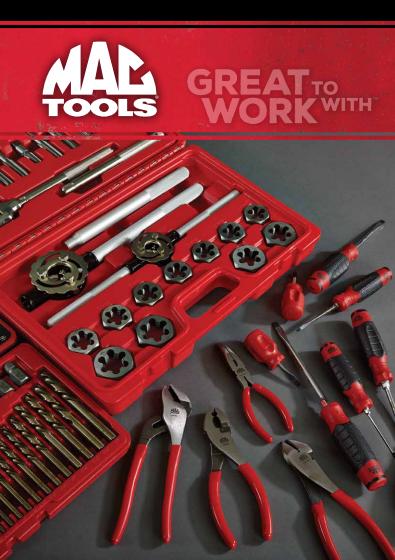 mac tools tuoteluettelo