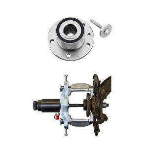 Napa- / kompaktilaakerin (HBU 2.1) työkalut