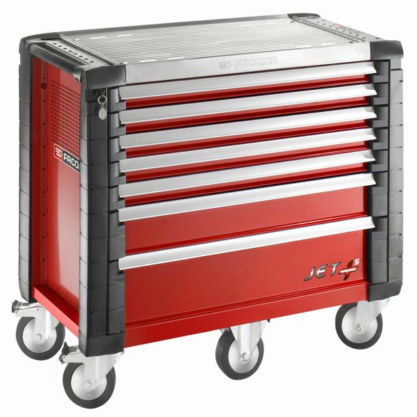 Facom punainen työkaluvaunu Toolx Oy