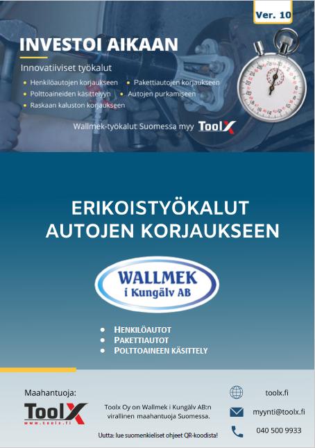 Wallmek tuoteluettelo suomeksi